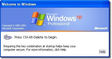 Windows XP Login