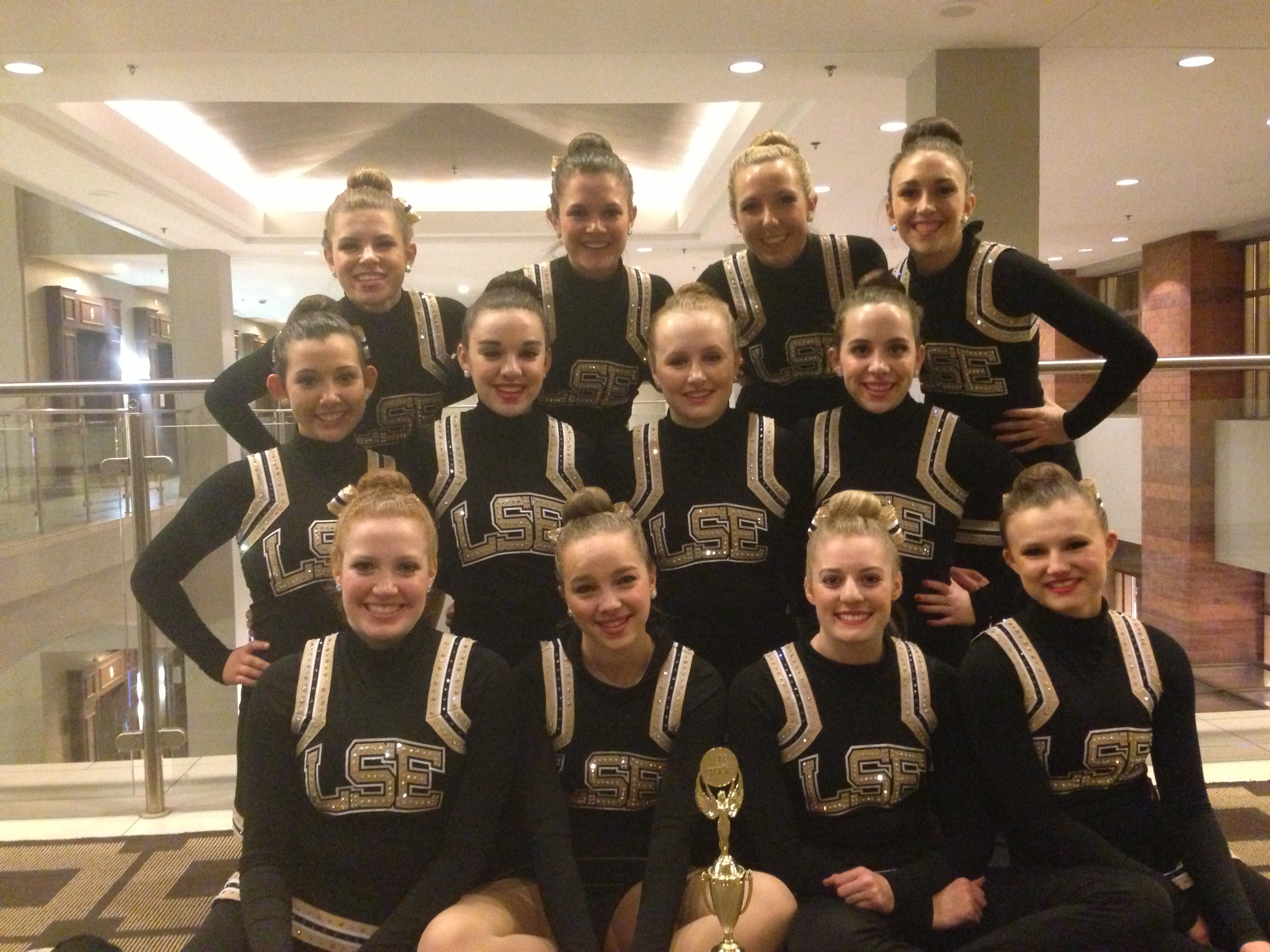 Shirettes at competition in Chicago in January 2014.